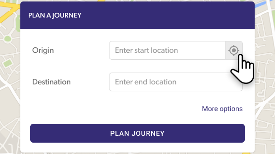 Journey Planner instructions